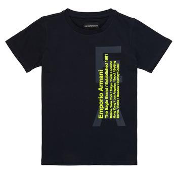 material Boy short-sleeved t-shirts Emporio Armani Andoni Marine