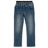 material Boy straight jeans Emporio Armani Annie Blue