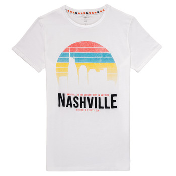 material Boy short-sleeved t-shirts Name it NKMDPOPS White