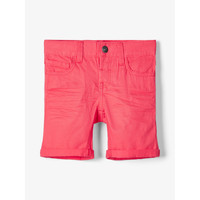 material Boy Shorts / Bermudas Name it NMMSOFUS TWIISKA Red