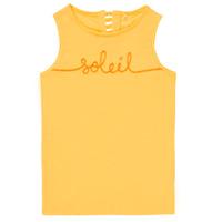 material Girl Tops / Sleeveless T-shirts Name it NKFFAMILA Yellow