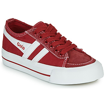 Shoes Children Low top trainers Gola QUOTA II Red / White