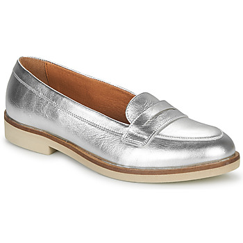 Shoes Women Loafers André EFIGINIA Silver
