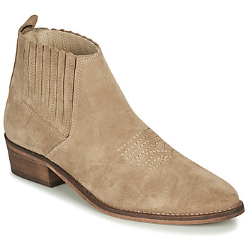 Shoes Women Ankle boots André MANA Taupe
