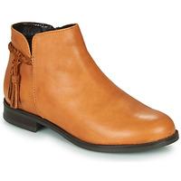 Shoes Women Mid boots André MILOU Camel