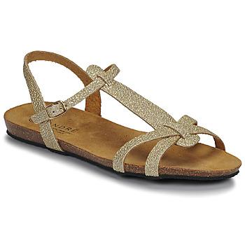 Shoes Women Sandals André BORA Gold
