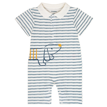 material Boy Jumpsuits / Dungarees Noukie's IMRAN White