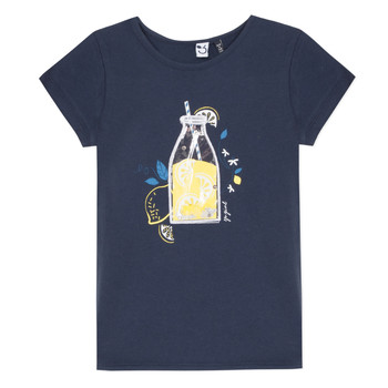 material Girl short-sleeved t-shirts 3 Pommes LOGAN Blue