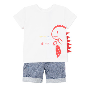 material Boy Sets & Outfits 3 Pommes ANOUCK White