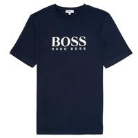 material Boy short-sleeved t-shirts BOSS ELIO Blue