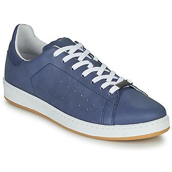 Shoes Men Low top trainers André MATT Blue