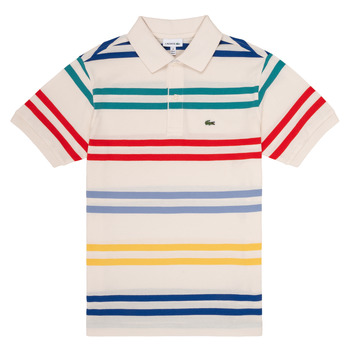material Boy short-sleeved polo shirts Lacoste HENRI Multicolour