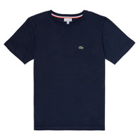 material Boy short-sleeved t-shirts Lacoste JOSEPHE Marine