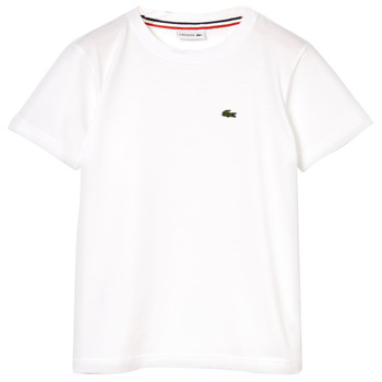 material Boy short-sleeved t-shirts Lacoste APAULINE White