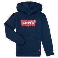 material Boy sweaters Levi's BATWING SCREENPRINT HOODIE Marine