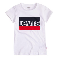 material Girl short-sleeved t-shirts Levi's SPORTSWEAR LOGO TEE White