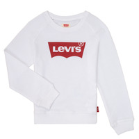 material Girl sweaters Levi's KEY ITEM LOGO CREW White