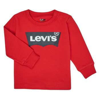 material Boy Long sleeved shirts Levi's BATWING TEE LS Red