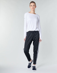 material Women Tracksuit bottoms adidas Performance W ID 3S Snap PT Black