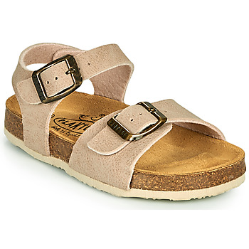 Shoes Children Sandals Plakton LOUIS Beige