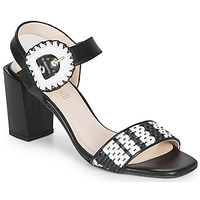 Shoes Women Sandals Fericelli MAIRA Black / Et  / White