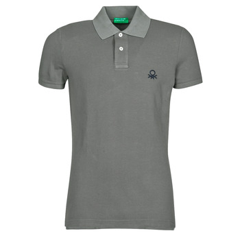material Men short-sleeved polo shirts Benetton MARADI Grey