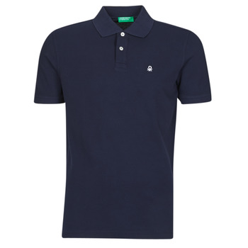 material Men short-sleeved polo shirts Benetton NOLIA Marine