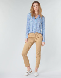 material Women chinos Benetton  Beige