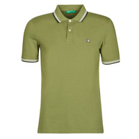 material Men short-sleeved polo shirts Benetton GOELISE Kaki