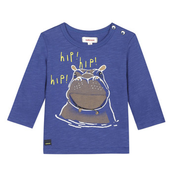 material Boy short-sleeved t-shirts Catimini MEYER Blue