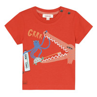 material Boy short-sleeved t-shirts Catimini BARQUER Red