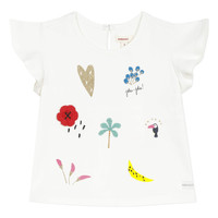 material Girl short-sleeved t-shirts Catimini NADEGE White