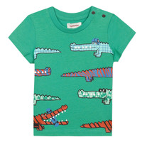 material Boy short-sleeved t-shirts Catimini LIZANDRO Blue