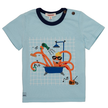 material Boy short-sleeved t-shirts Catimini LEANDRE Blue