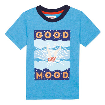 material Boy short-sleeved t-shirts Catimini TAYRON Blue