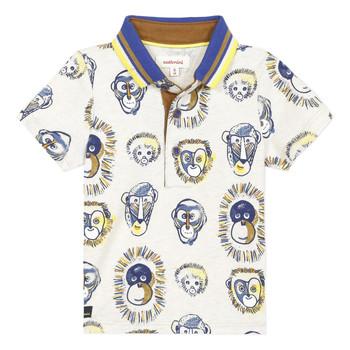 material Boy short-sleeved polo shirts Catimini ANAELE Beige