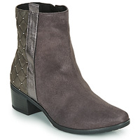 Shoes Women Mid boots Caprice LINITANE Grey