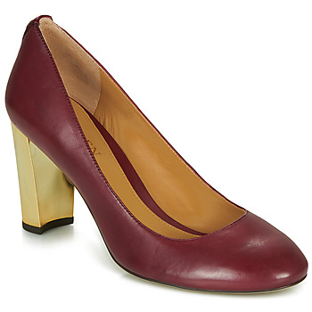Shoes Women Court shoes Lauren Ralph Lauren 802688958-004 Bordeaux