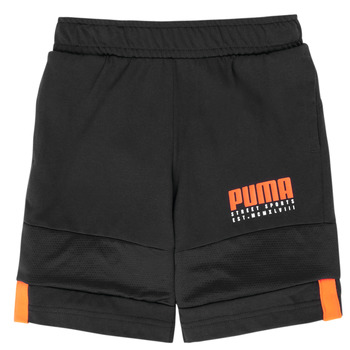 material Boy Shorts / Bermudas Puma ALPHA JERSEY SHORT Black