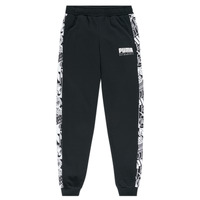 material Boy Tracksuit bottoms Puma ALPHA SWEAT PANT BOY Black