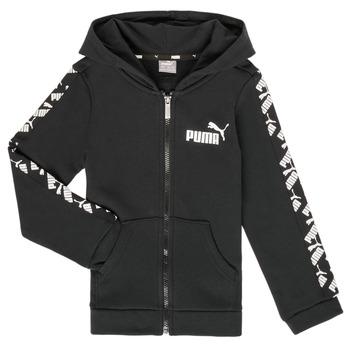material Boy sweaters Puma AMPLI HOOD JKT Black