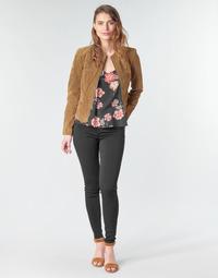 material Women 5-pocket trousers Vila VICOMMIT Black
