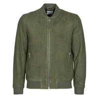 material Men Leather jackets / Imitation le Selected SLHB01 Kaki