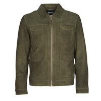 material Men Leather jackets / Imitation le Selected SLHRALF Kaki