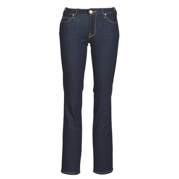 material Women straight jeans Lee MARION STRAIGHT Rinse