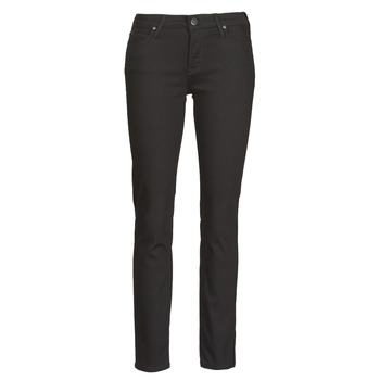 material Women slim jeans Lee ELLY  black / Rinse