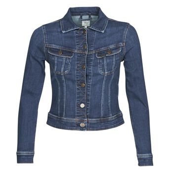 material Women Denim jackets Lee SLIM RIDER JACKET Dark