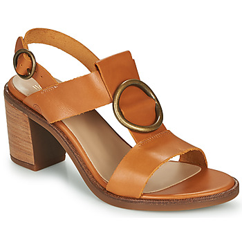 Shoes Women Sandals Casual Attitude MELINA Camel
