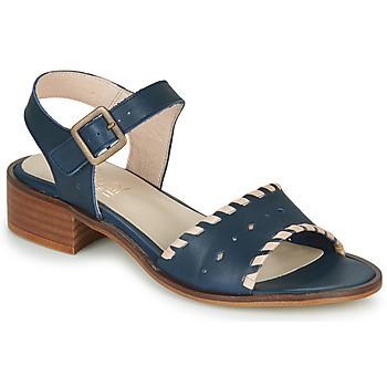 Shoes Women Sandals Casual Attitude RINEILUE Black / Silver