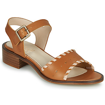 Shoes Women Sandals Casual Attitude MELIVELLANA Brown